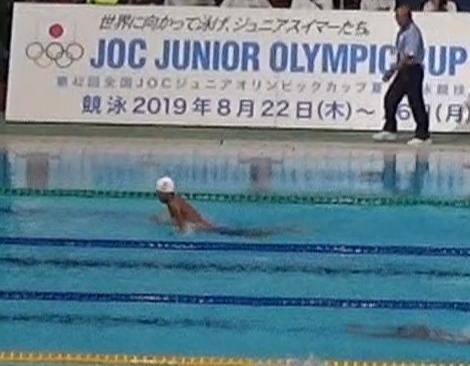 2019 水泳 ジュニア オリンピック